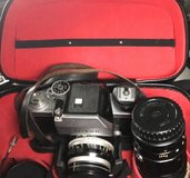 Vintage Nikon F Camera With 2 extra lenses and Case in Pasadena, Texas