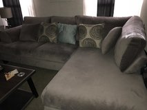 Couch with chaise in Baytown, Texas