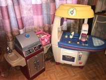Kids Play Kitchen and Grill set in Joliet, Illinois