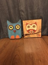 4 pc Owl picture set in Lawton, Oklahoma