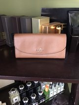Tan Coach Accordion Wallet in Ramstein, Germany