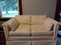 Loveseat: Cream Colored: Perfect Condition! in St. Charles, Illinois