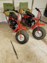 2 Coleman mini bikes in Alamogordo, New Mexico
