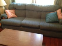 BLUE COMFY COUCH & CHAIR in Joliet, Illinois