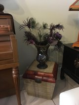 bamboo chest and princess house vase/candle holder in Camp Pendleton, California