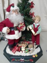Vintage Animated Musical Dancing Christmas Santa Claus in Algonquin, Illinois