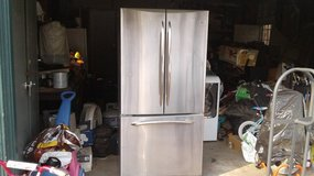 GE stainless  refigerator 22 cubic foot in Vacaville, California