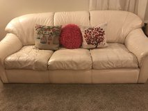 Leather Couch in Fort Riley, Kansas