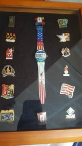1996 Olympic Games Watch and Pins in Travis AFB, California