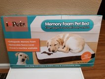 Memory foam dog bed in Travis AFB, California