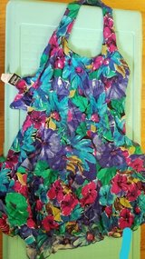 dresses- small size -floral and pink are halter top in Elgin, Illinois