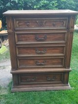 Solid wood cabinet with drawers in Ramstein, Germany