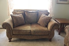 Chenille Couch and Loveseat set in Quantico, Virginia