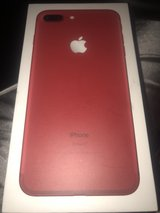 red iPhone 7 Plus 256 GB NEW open box in Ramstein, Germany
