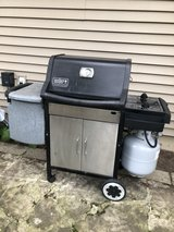 Weber Genesis Grill w/Tank and New Weber Grids in Oswego, Illinois