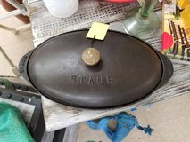 Cast Iron Fish Plate with Lid by Staub in Wilmington, North Carolina