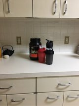 Protein and 3 Shakers in Okinawa, Japan