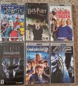 PSP movies (reduced) in Houston, Texas