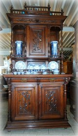 beautiful antique dining room hutch from Belgium in Ansbach, Germany