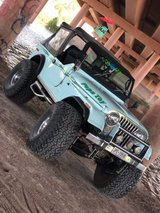 Jeep CJ7 in Fort Bliss, Texas
