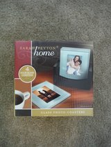 NIB Glass Photo Coasters in Camp Lejeune, North Carolina