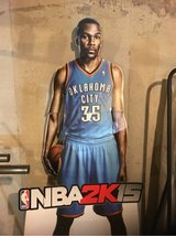 Kevin Durant cardboard cut-out in Plainfield, Illinois