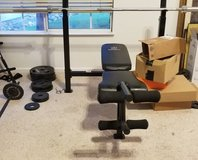 Marcy Bench Press w/ Weights in Fairfield, California