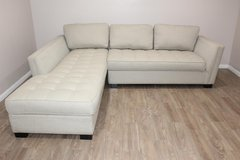 Selling this excellent Cream color sectional! in Spring, Texas