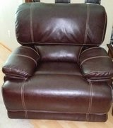 Brown Leather Oversized Rocker Recliner in The Woodlands, Texas