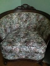 Antique sofa and chair in St. Charles, Illinois