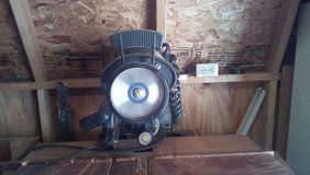 Craftsman Radial Saw with Accessories and Table in Quad Cities, Iowa