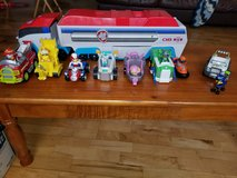PAW PATROL PATROLLER AND ACTION FIGURES WITH VEHICLES in Tinley Park, Illinois