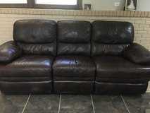 Leather recliner set in Joliet, Illinois