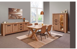 Miko Dining Set in French Oak including delivery in Spangdahlem, Germany