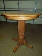 PUB TABLE & TWO CHAIRS SOLID OAK  ( NOT VENEER ) in Orland Park, Illinois