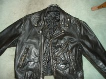 leather biker jacket in Orland Park, Illinois