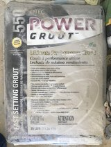 Tec Power Grout 25 lb bright white - 6 bags in Bartlett, Illinois