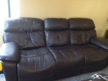 Couch set with recliner for sale in Bolingbrook, Illinois
