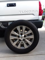 """Genuine OEM Toyota Tundra 20"""" 4 Center Cap, Wheel, Tires and Spare in Warner Robins, Georgia"""