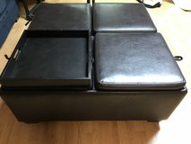 Leather Ottoman with Storage in Algonquin, Illinois