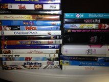 Robin Williams / pink panther DVD's in Baytown, Texas
