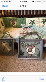Jungle/safari bedding in The Woodlands, Texas