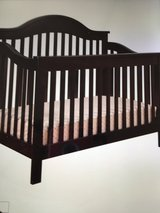 Jayden 4-in1 convertible crib in Camp Lejeune, North Carolina