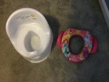 Potty chair and Disney potty seat for potty training. in Camp Lejeune, North Carolina
