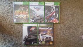 XBOX 360 Racing GAMES in Glendale Heights, Illinois