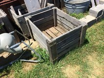 Wooden crate in Yorkville, Illinois