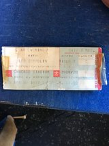 1977 Led Zeppelin Ticket Stub. in St. Charles, Illinois