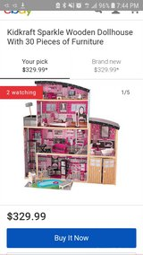 KIDKRAFT Sparkle 4 story Mansion Dollhouse in Spring, Texas