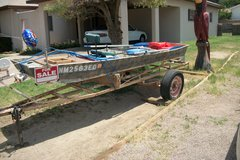 SEARS JON BOAT & TRAILER in Alamogordo, New Mexico