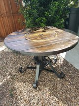 Beautiful hard wood table Refinished in Camp Pendleton, California